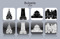Icons of Bulgaria Royalty Free Stock Photography