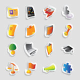 Icons for business Stock Photo