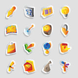 Icons for business Stock Photos