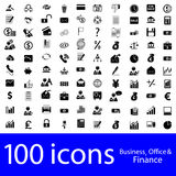Icons Business, Office & Finance Royalty Free Stock Photos