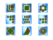 Icons button Royalty Free Stock Photo