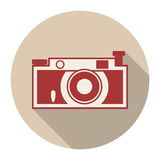 Icons with a camera Stock Photos