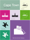 Icons of Cape Town Stock Images