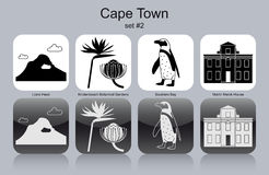 Icons of Cape Town Stock Image