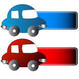 Icons of cars Stock Photo