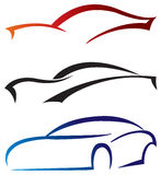 Car icons Royalty Free Stock Photography