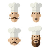 Chefs with hats Stock Photos