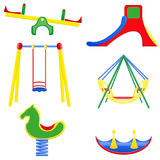 Icons children teeter vector illustration Royalty Free Stock Image