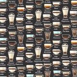 Icons Coffee Stock Photo