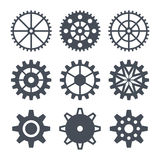 Icons cogwheel Stock Photo
