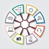 Icons of communication Stock Photos