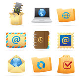 Icons for concepts Stock Photo