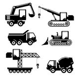 Icons construction Stock Image