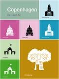 Icons of Copenhagen Stock Photo