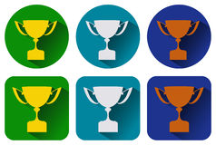 Icons cup Stock Photography