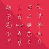 Icons design set Stock Photography