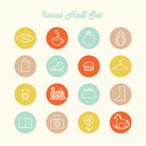 Icons design set. This is file of EPS8 format Stock Photos
