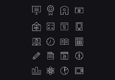 Icons design tample . Mixed media Stock Images