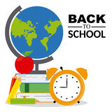 icons of education Royalty Free Stock Photography