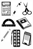 Icons education Royalty Free Stock Photography