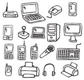 Icons - Electronics 3 Stock Photo