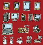 Icons - Electronics Royalty Free Stock Photos