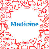 Icons of equipment for medicine and healthcare. Medical and healthcare equipment icons in form of heart. Nurse or medic, sticking plaster or adhesive bandage Royalty Free Stock Photos