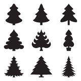 Icons fir-tree. Christmas fir-tree of an icon royalty free illustration