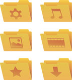 Icons folder Royalty Free Stock Image