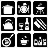 Icons_food Fotos de Stock Royalty Free
