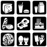 Icons_food Stock Photos