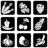 Icons_food Royalty Free Stock Photo