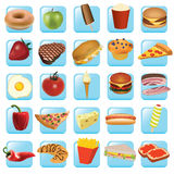 Icons - food Stock Photos