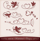 Icons For Valentine S Day Royalty Free Stock Images