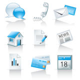 Icons For Web Sites Royalty Free Stock Photos