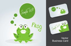 Icons frog Royalty Free Stock Images