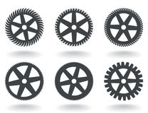 Icons a gear wheel Royalty Free Stock Image