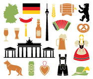 Icons Of Germany Stock Images