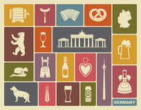 Icons Of Germany Stock Photos