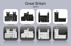 Icons of Great Britain stock illustration