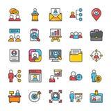 Human Resource Vector Icons Set 2 Stock Photo