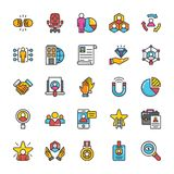 Human Resource Vector Icons Set 5 Royalty Free Stock Photo
