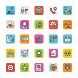 Human Resource Vector Icons Set 4 Stock Image
