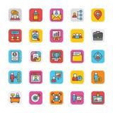 Human Resource Vector Icons Set 2 Stock Image