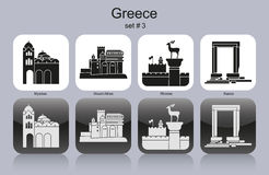 Icons of Greece Stock Image