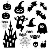 Icons for Halloween  Stock Photo