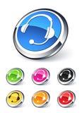 Icons headphone Royalty Free Stock Photos