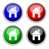 Icons of home, colored collection Royalty Free Stock Photos