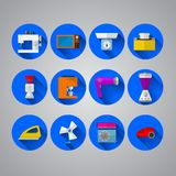 Icons for home Royalty Free Stock Images