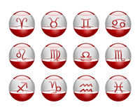 Icons horoscope Stock Images